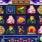 Hrací online slot Cats and Cash