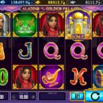 Online slot Aladdin and the Golden Palace